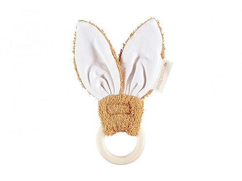 Anneau de dentition bunny caramel Nobodinoz