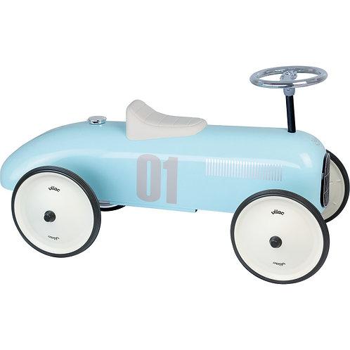 Porteur voiture bleu tendre Vilac