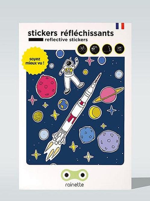 Stickers réfléchissants Espace Rainette