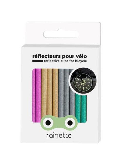 Réflecteurs pour roues de vélo Multicolor Rainette