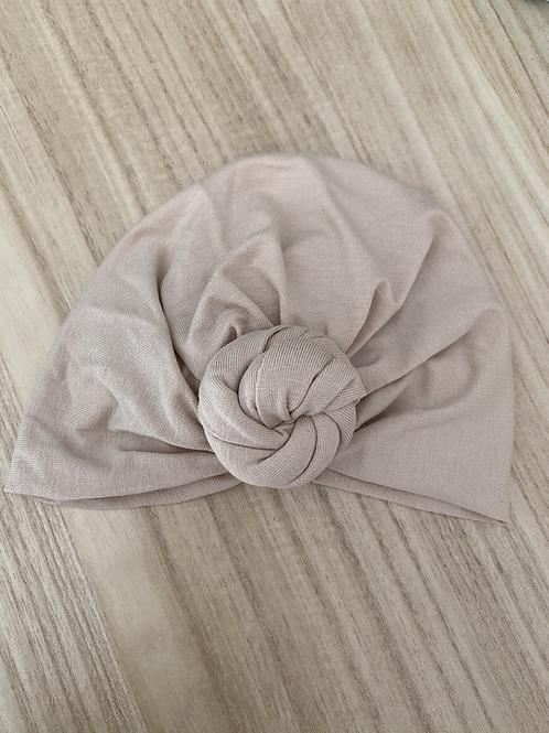 Bonnet turban à noeud Nude MademoiselleBeuZ