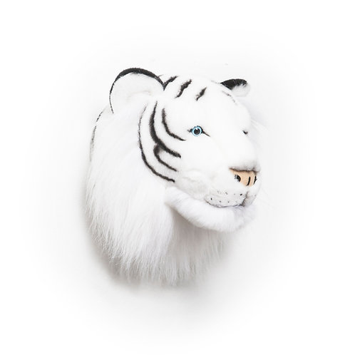 Tête Tigre blanc Wild and Soft
