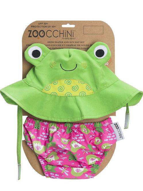 Maillot & chapeau grenouille Zoocchin