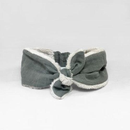 Baby turban polar grey Baby shower