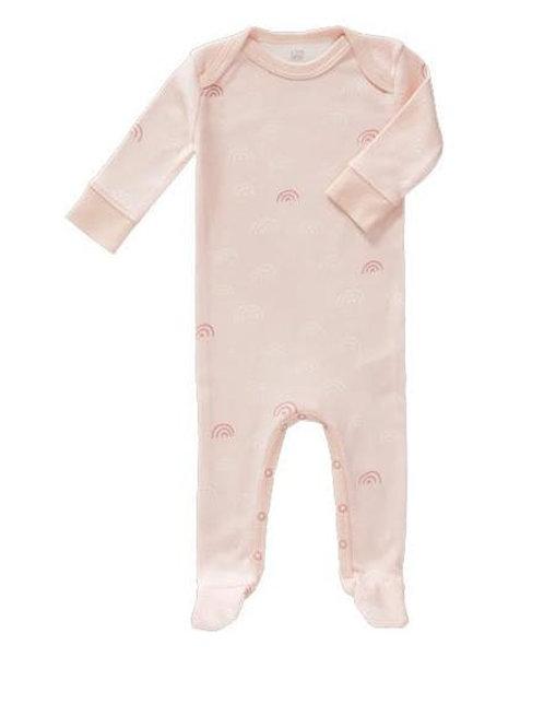 Pyjama avec pieds arc en ciel rose Fresk