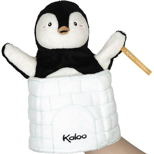 Marionnette Cache Cache Pingouin Kaloo