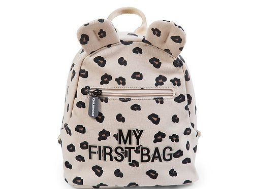 My first bag Léopard Childhome