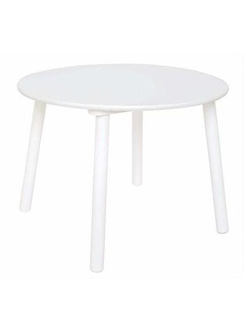 Table ronde blanche Jabadabado