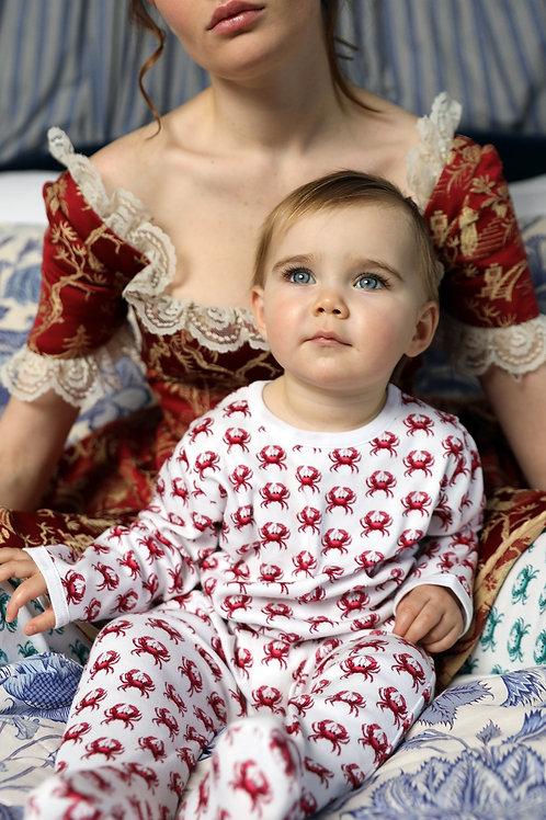 Pyjama bébé Imi Crabe Grenadine Brai