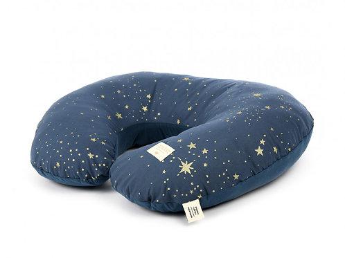 Coussin d'allaitement sunrise Gold Stella night blue Nobodinoz