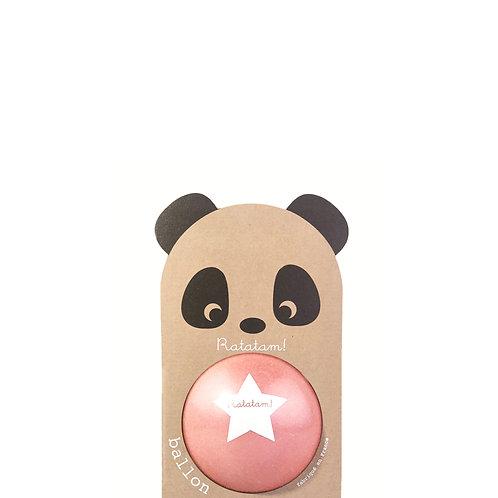 Ballon panda rose 12 cm Ratatam