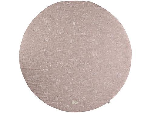 Tapis de jeu rond White bubble misty pink Full Moon Small Nobodinoz