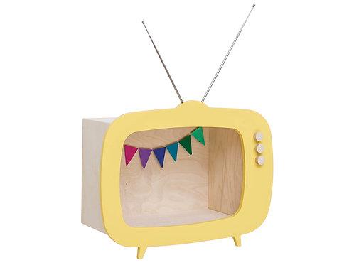 Etagère téléviseur jaune Up Warsaw