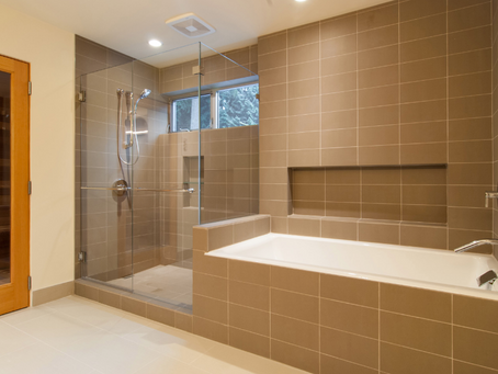 Shower and Bathtub Tile Installation