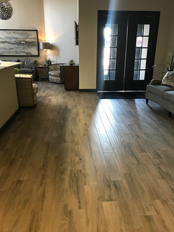 Wood look 7x36 plank flooring