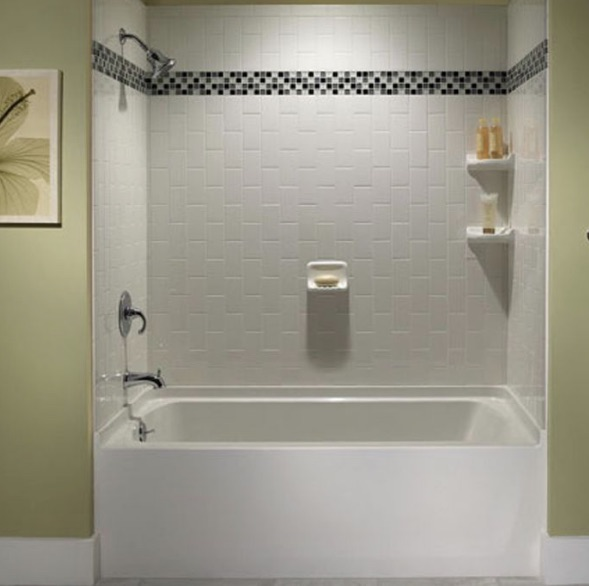 Bathtub tile installation