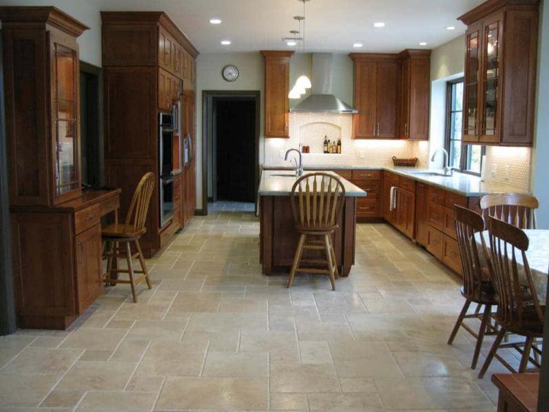Floor Tile Installation by B&W Designer Tile | Tulsa