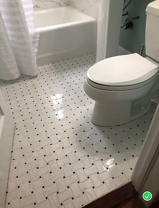 Tile Flooring Bathroom