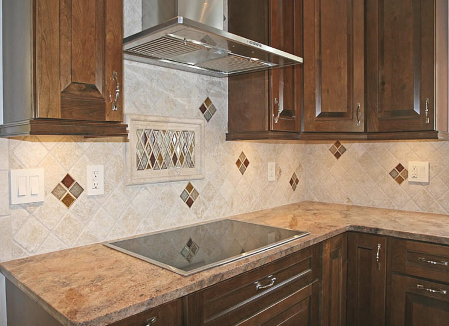 Backsplash tile, kitchen