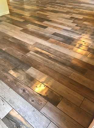Wood Plank Floor Tile