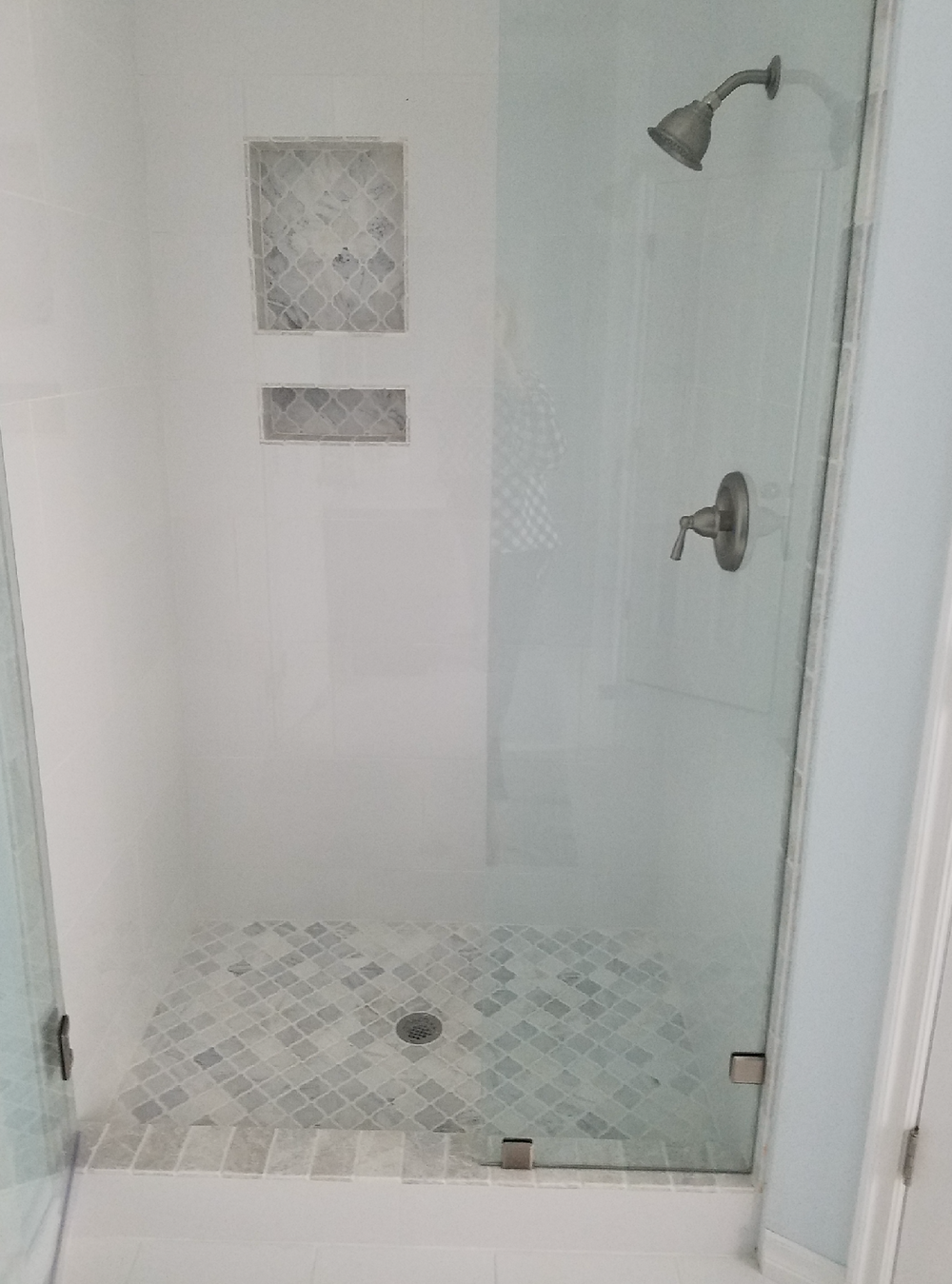 Ceramic tile and Stone Installation, Shower