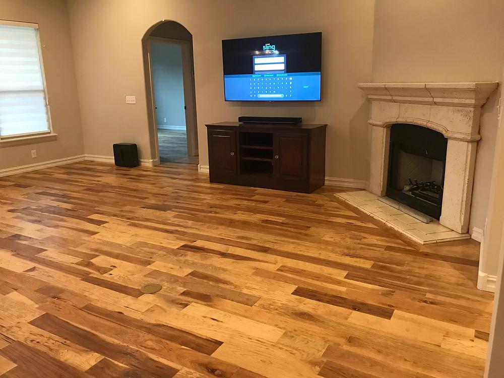 Engineered Wood Flooring, Wood Look Tile Installation
