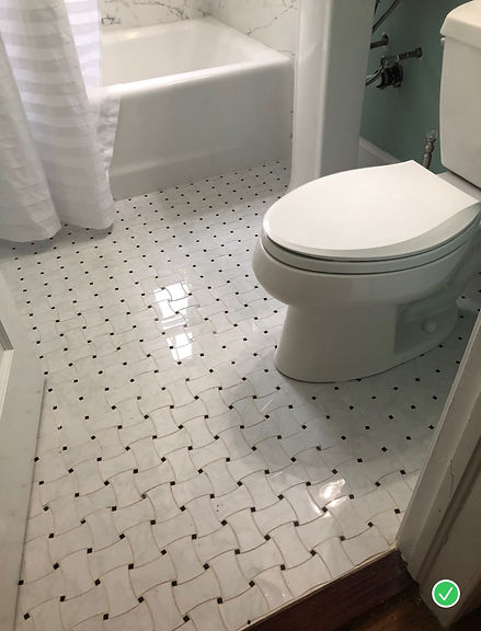 Patterened Floor Tile
