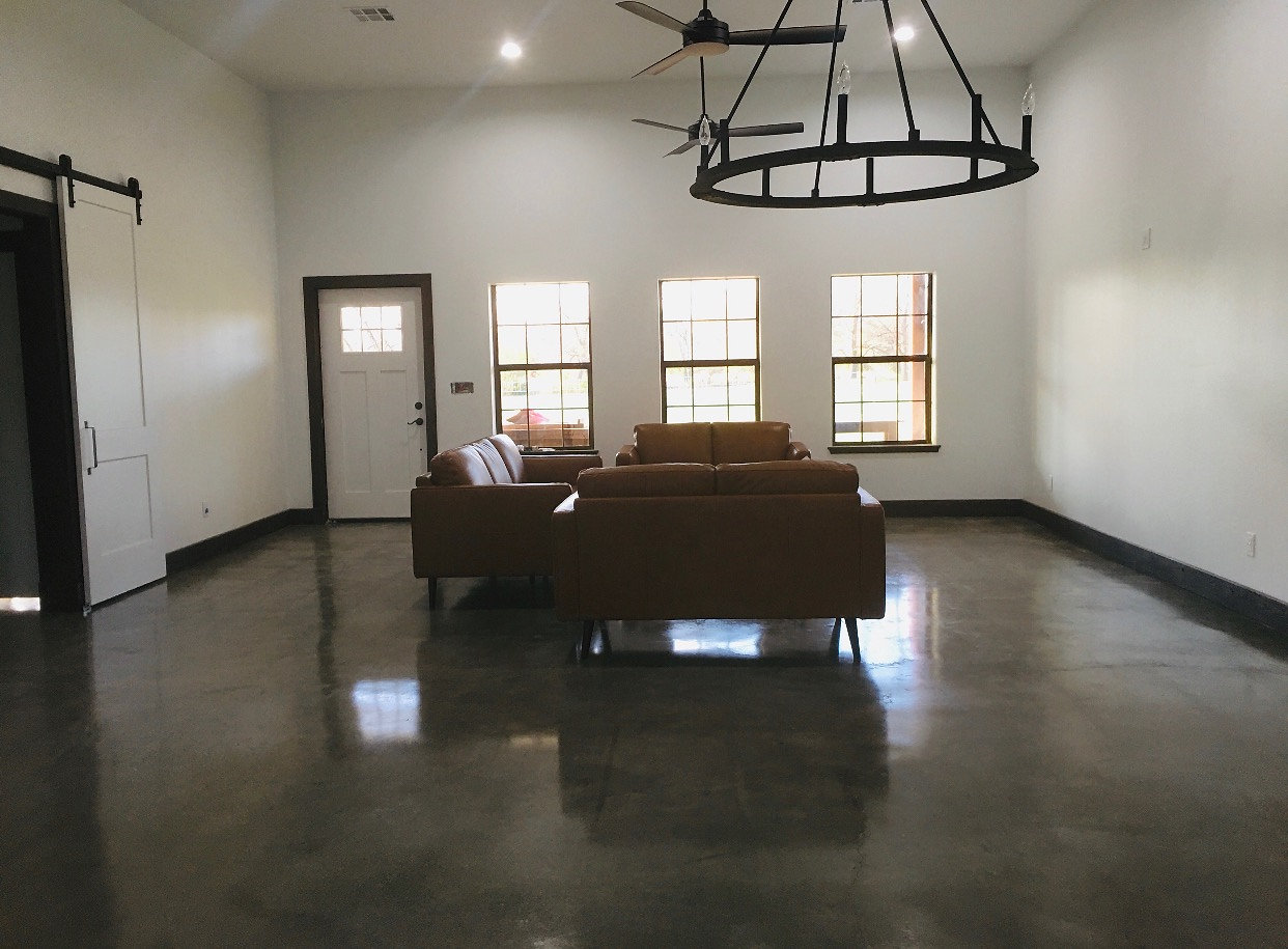 Awesome stained concrete