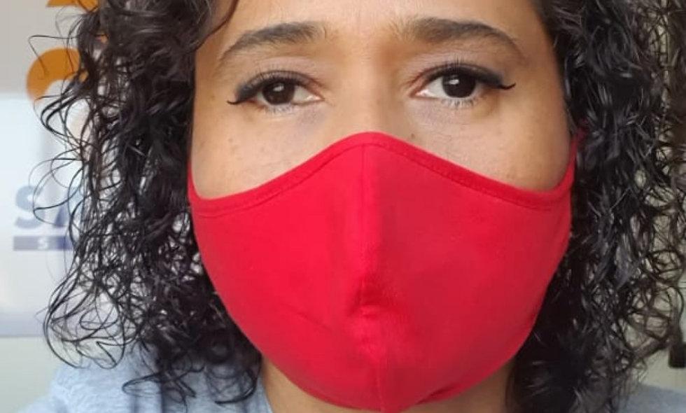 Máscaras de malha 100% algodão - Tamanho M