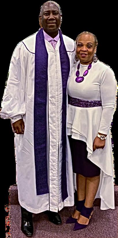 Pastor Charlie and Elder Melanies Jones
