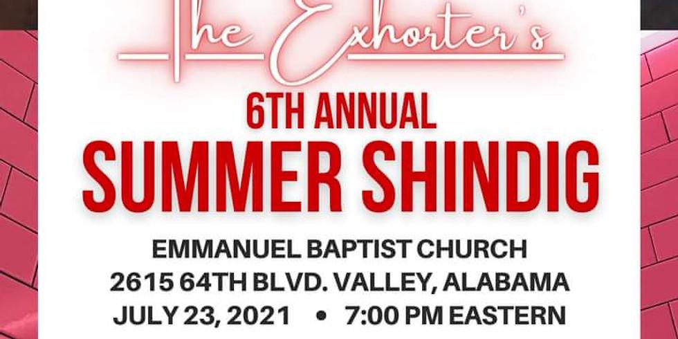 Exhorters 6th Annual Shindig