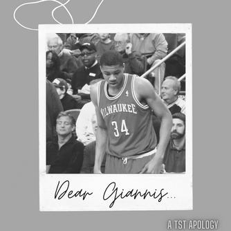 Dear Giannis...