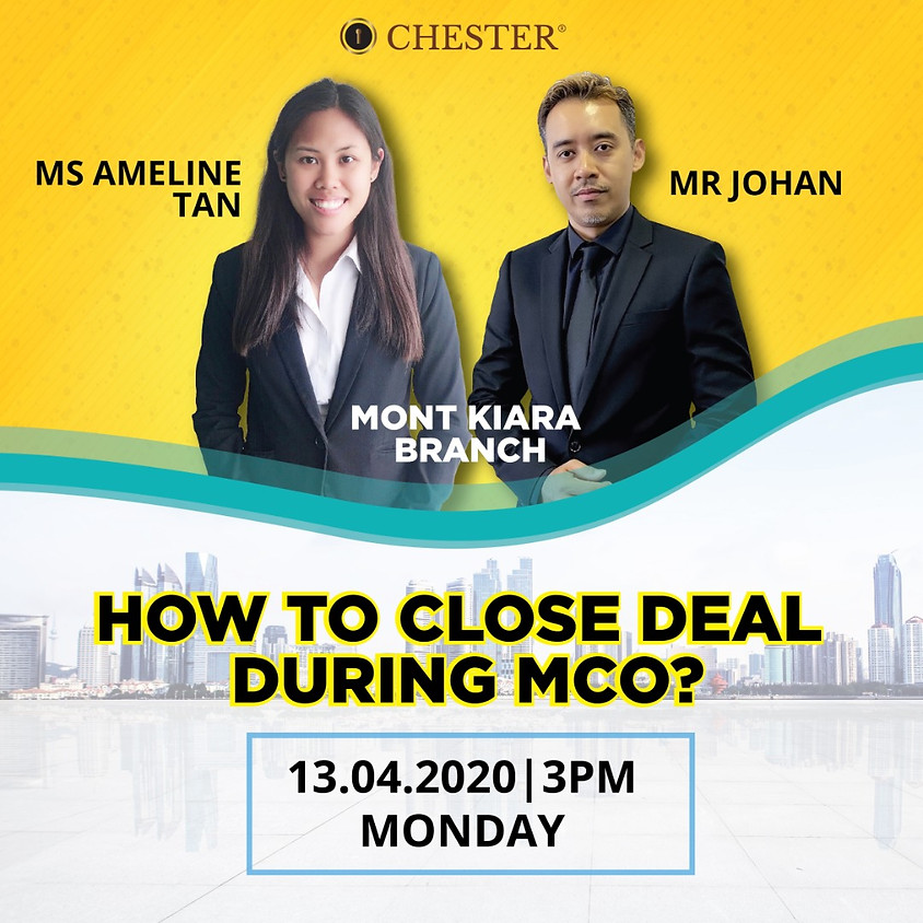 How they manage close deals during MCO
