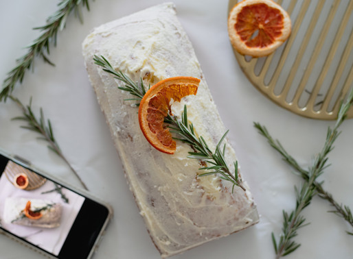 Elegant Rosemary Lemon Loaf