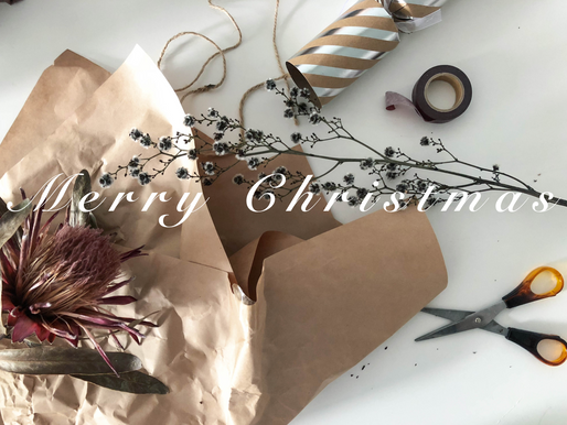 SIMPLE RUSTIC GIFT WRAP FOR CHRISTMAS