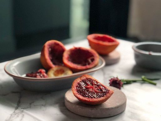 BREAKFAST IDEAS WITH BLOOD ORANGES