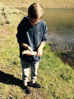 Lake Fishing near Cathedral Cabins