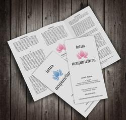 Lotus Acupuncture Brochures