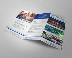 Optimas Trifold Brochure Mockup