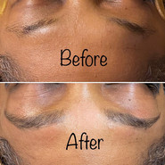 Brow wax and tinting service