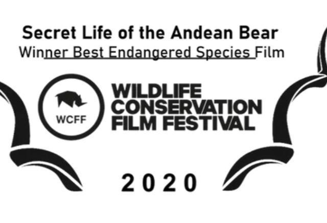"""Tournage du film """"La vie secrète de l'ours à lunettes""""à Los Yaltes."""