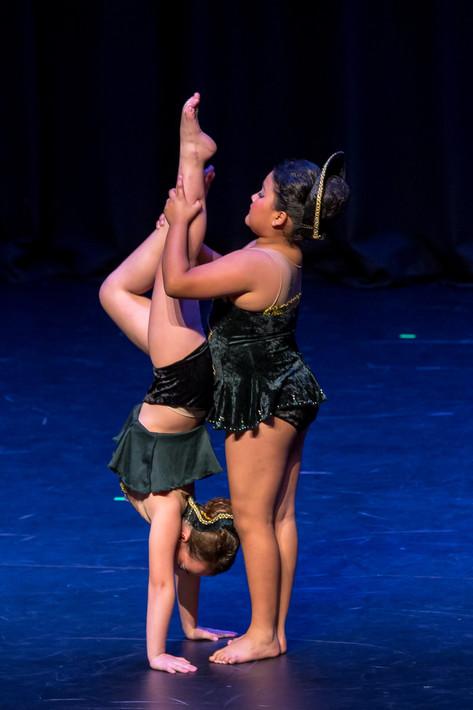Dance team work