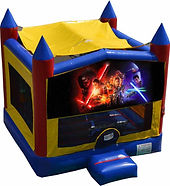 star wars bouncy castle hire perth a bonza bounce party hire