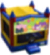 peppa pig bouncy castle hire perth a bonza bounce party hire perth