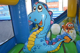 toddler dinosaur bouncy castle hire perth, perth bouncy castle hire
