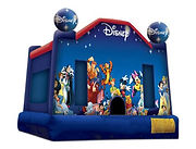 world of disney bouncy castle hire perth bonza bounce