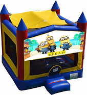 minions bouncy castle hire perth a bonza bounce party hire