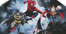 batman spiderman superman bouncy castle hire perth party hire perth a bonza bounce