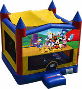 mickey mouse bouncy castle bouncy castle hire perth perth bouncy castle hire a bonza bounce