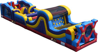 bonza bounce bouncy castle hire perth obstacle course hire perth